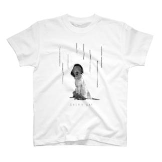 hitomiのRAINY DAT - BW T-shirts