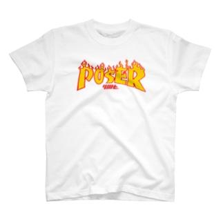 I'm just poser☺ T-shirts