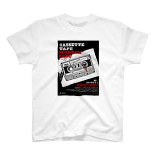 CASSTTE TAPE MURDER CASE(赤) T-shirts