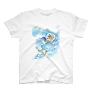 水中遊泳 Tシャツ