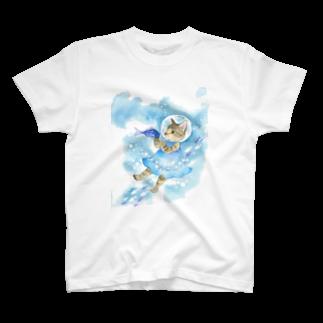 Rosemary*Teaの水中遊泳 T-shirts