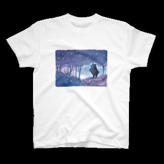 Rosemary*Teaの星降る森のくまさん T-shirts