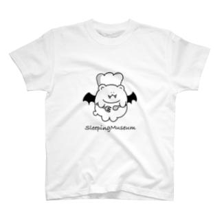 給仕悪魔ベアーロゴ入り T-shirts