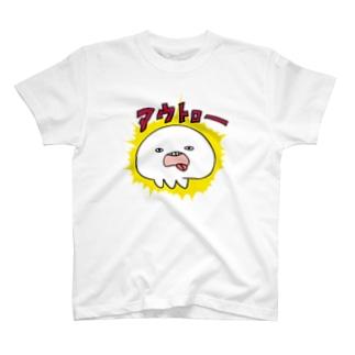 アウトローなくらげ T-shirts