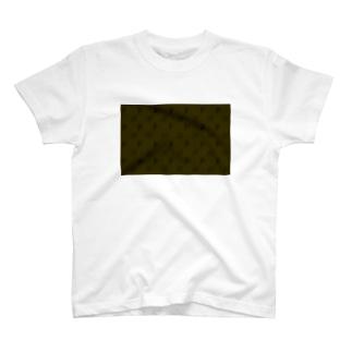 FIAT_PANDAモノグラム【LightBrown】 T-shirts