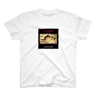 カラフトマス!斜里(樺太鱒;PINK SALMON)生命たちへ感謝を捧げます。※価格は予告なく改定される場合がございます。 T-shirts