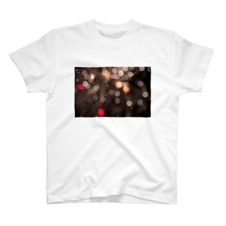 花火降る T-shirts
