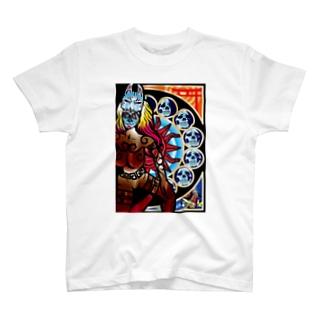Fuji-Low-Bのアイヌトメキシコ T-shirts