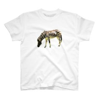 たぶんシマウマ T-shirts