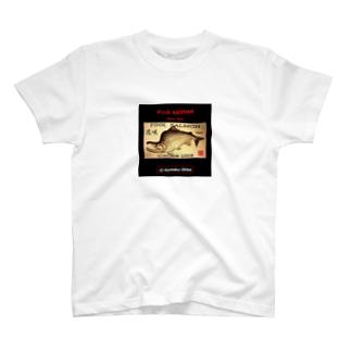 花咲 カラフトマス!生命たちへ感謝を捧げます。※価格は予告なく改定される場合がございます。 T-shirts