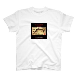 猿払 カラフトマス!生命たちへ感謝を捧げます。※価格は予告なく改定される場合がございます。 T-shirts
