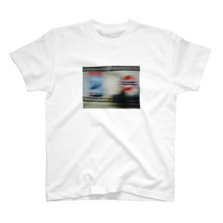 どこかのtube station T-shirts