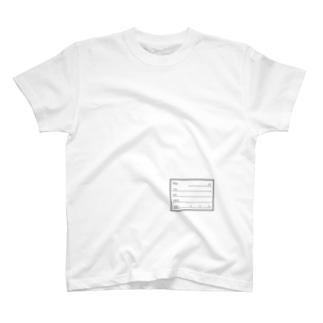 標本ラベル T-shirts