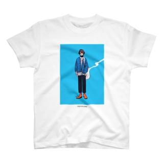 泣き虫と服 1 Tシャツ