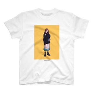 泣き虫と服 3 Tシャツ