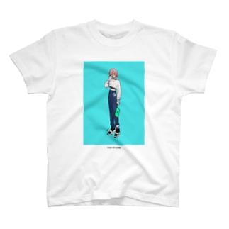 泣き虫と服 5  Tシャツ