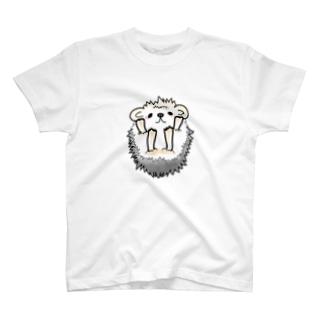 ハリネズミ(ばんざい) T-shirts