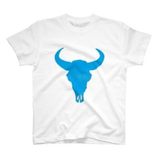 ブァッファロースカル T-shirts