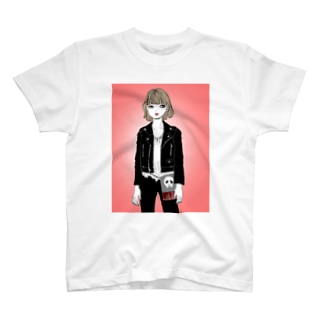 かわいいドクロ T-shirts