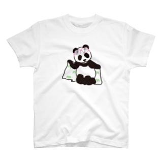 タオルパンダ T-shirts