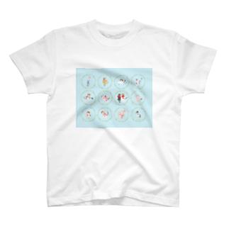 【HappyUnbirthday!2ndmember】 T-shirts