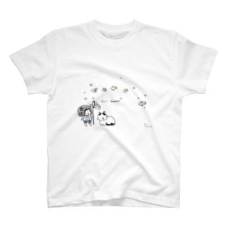 晴れ時々きんぎょ T-shirts