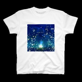 灯さかすの蛍。 T-shirts