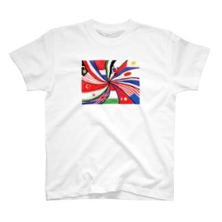 メニメニフラッグ T-shirts