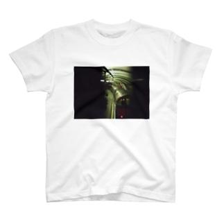 かっこいい地下鉄 T-shirts
