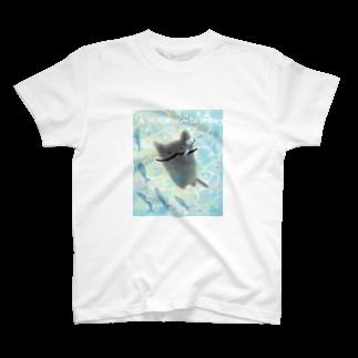 もふいぬの2018夏のヒゲニャフ T-shirts