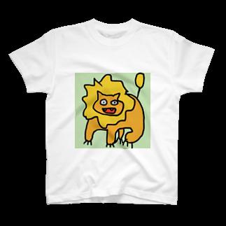 きつねこプロジェクトのらいおん T-shirts
