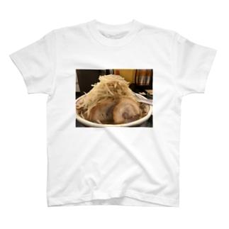 二郎系ラーメン T-shirts