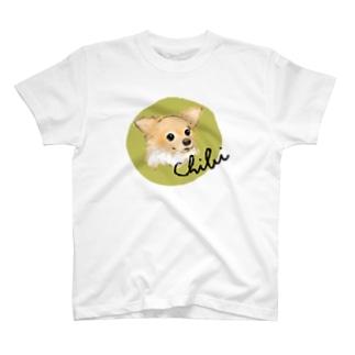 チビちゃん macchagreen T-shirts