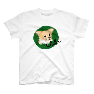 iccaのチビちゃん green Tシャツ