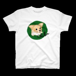 iccaのチビちゃん green T-shirts