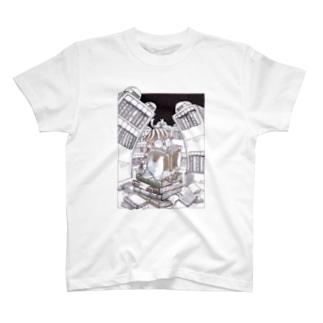 本の虫 T-shirts