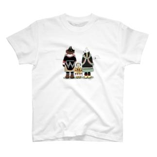 イヌイットのいぬ一家 T-shirts