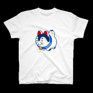 フコフコのこまいぬサン T-shirts