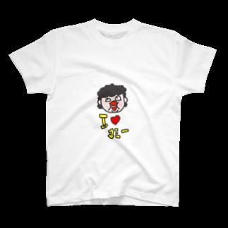 アッキーナのI♡マミー T-shirts