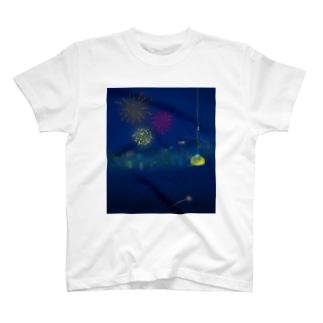 夏夜空 T-shirts