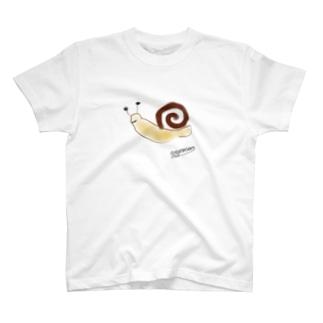 カタツムリ T-shirts