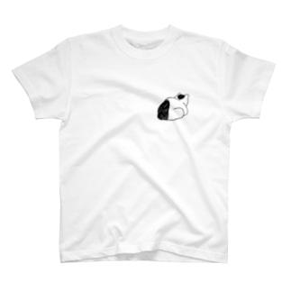 猫の背中 T-shirts