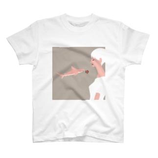 サメのプロポーズ T-shirts