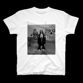 NAZOTOWNのサンタ・ムエルテ T-shirts