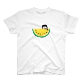 ぱくぱくゴリスイカ T-shirts