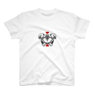 骨盤さん T-shirts