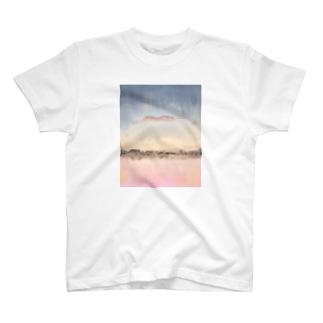 夕景 T-shirts