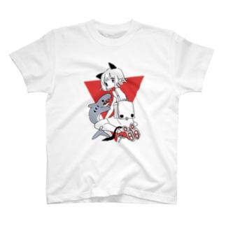 さめとねこ T-shirts