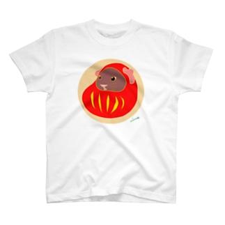 モル達磨 T-shirts