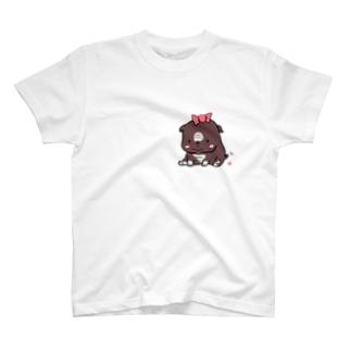 我が家のブルドッグ T-shirts